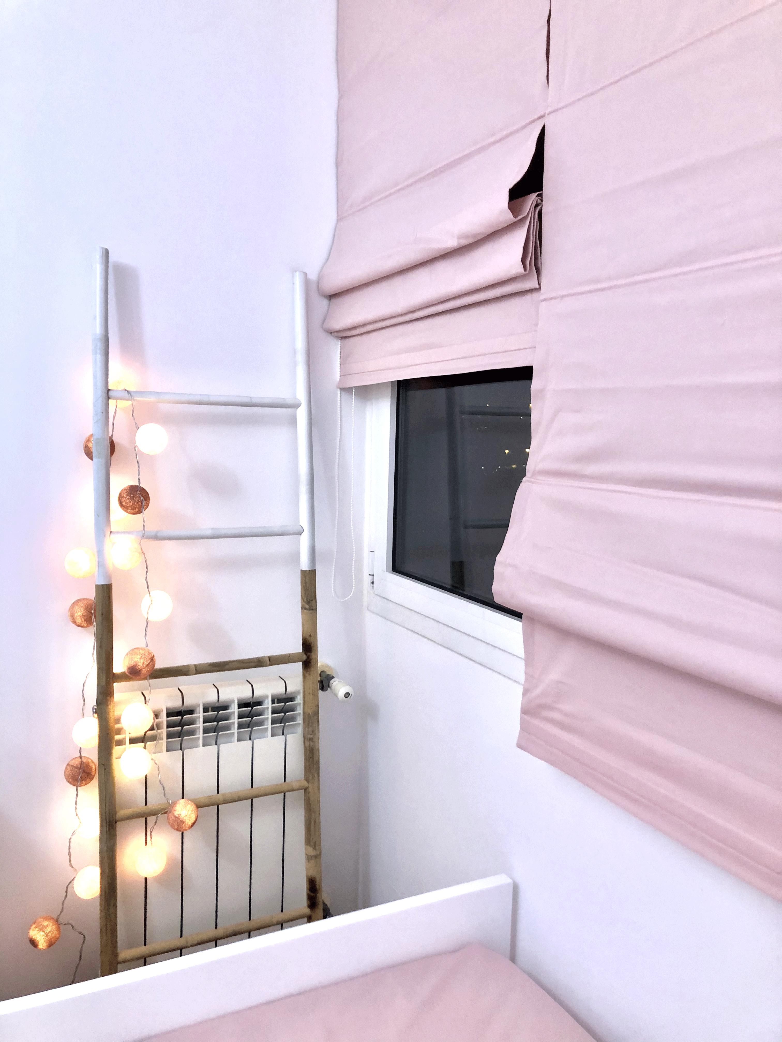 Grinalda cotton balls pink & gold